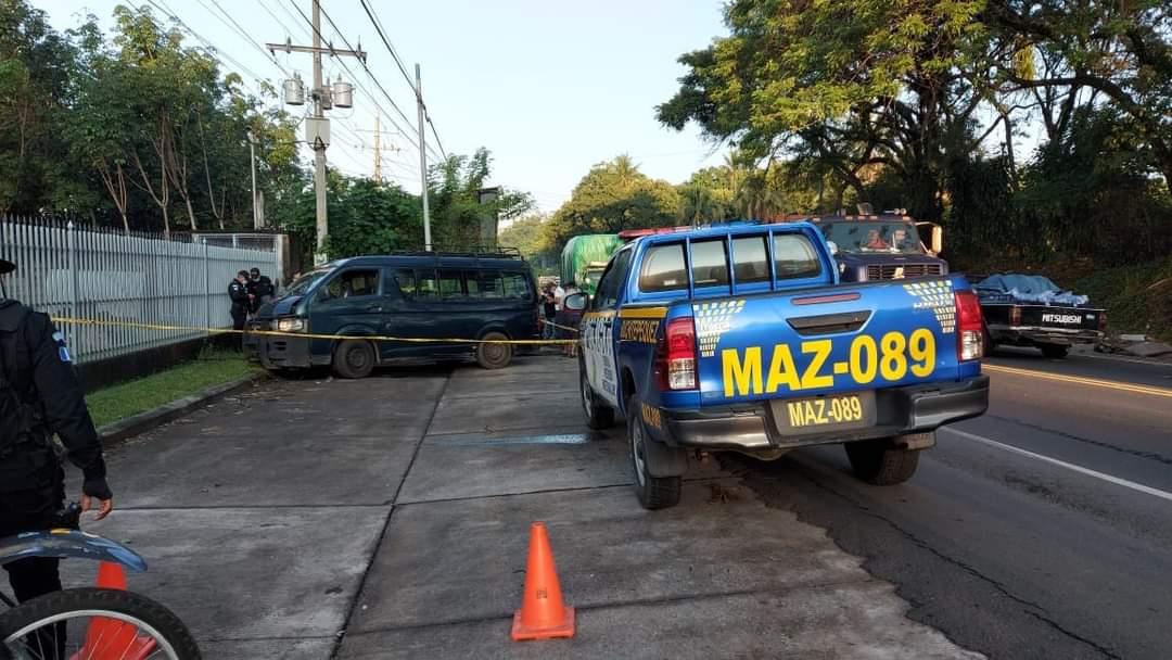 Una persona murió y otras dos resultaron heridas en un ataque armado ocurrido este miércoles en Cuyotenango, Suchitepéquez. (Foto: Cristian Soto)