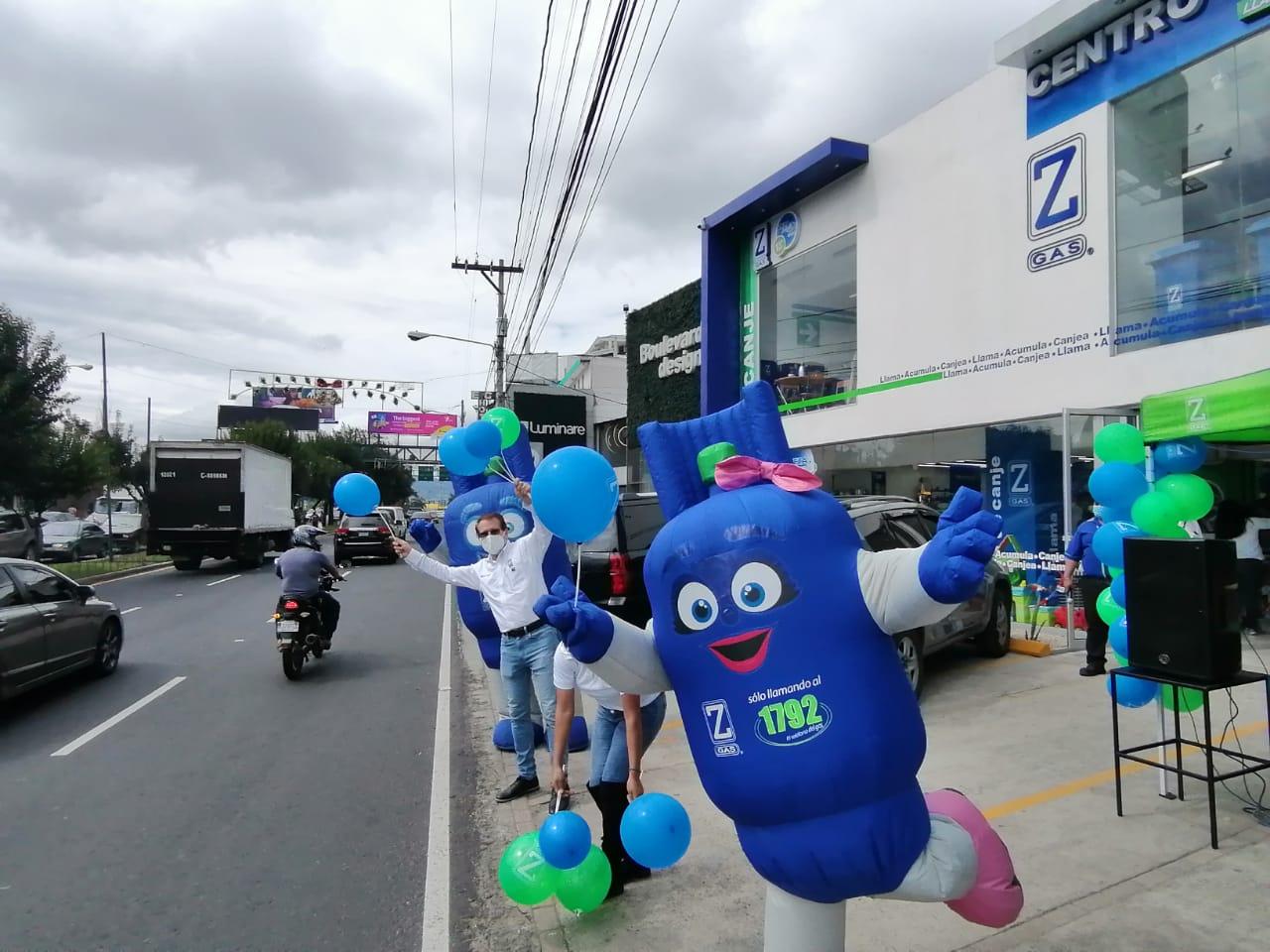 Zeta Gas inaugura un nuevo centro de canje en Los Próceres