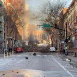 """Nashville: El FBI intenta resolver el """"rompecabezas"""" de la explosión"""