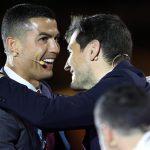 El portugués Cristiano Ronaldo, el técnico español Pep Guardiola y el Real Madrid, fueron elegidos como mejor jugador, entrenador y club del Siglo XXI. (Foto: EFE)