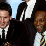 Leo Messi -641 goles con el Barcelona- podría asaltar el fin de semana el récord de goles de Pelé -643- logrado en un mismo club. (Foto: Twitter)