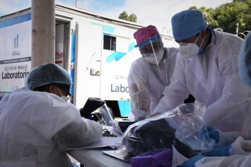 Guatemala registró este lunes la muerte de 24 personas por COVID-19 y 125 nuevos casos de la enfermedad, según datos oficiales. (Foto: Ministerio de Salud)