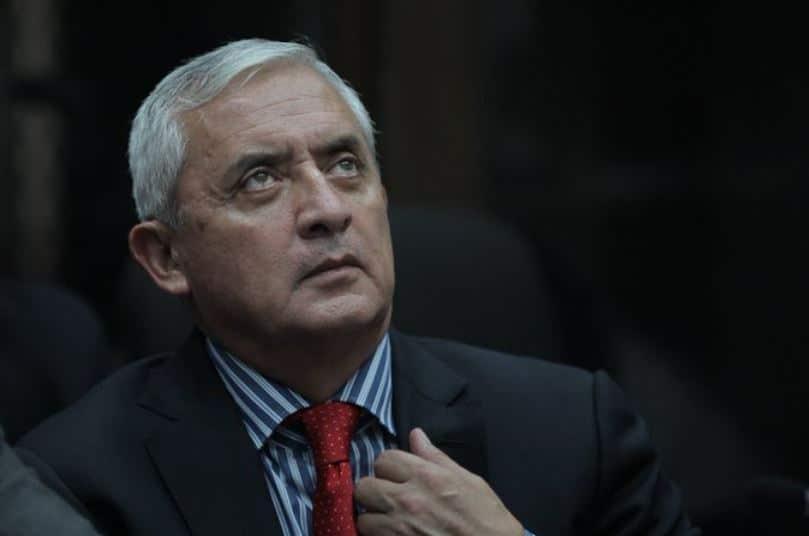 El expresidente Otto Pérez Molina ha solicitado al juez de mayor riesgo B, Miguel Ángel Gálvez su retorno a Militar Mariscal Zavala.