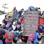 Más de 3 mil migrantes hondureños salieron este viernes en caravana hacia Estados Unidos a donde esperan llegar; esto pese a las advertencias de los gobiernos de ese país, Guatemala y México de que no permitirán su ingreso.