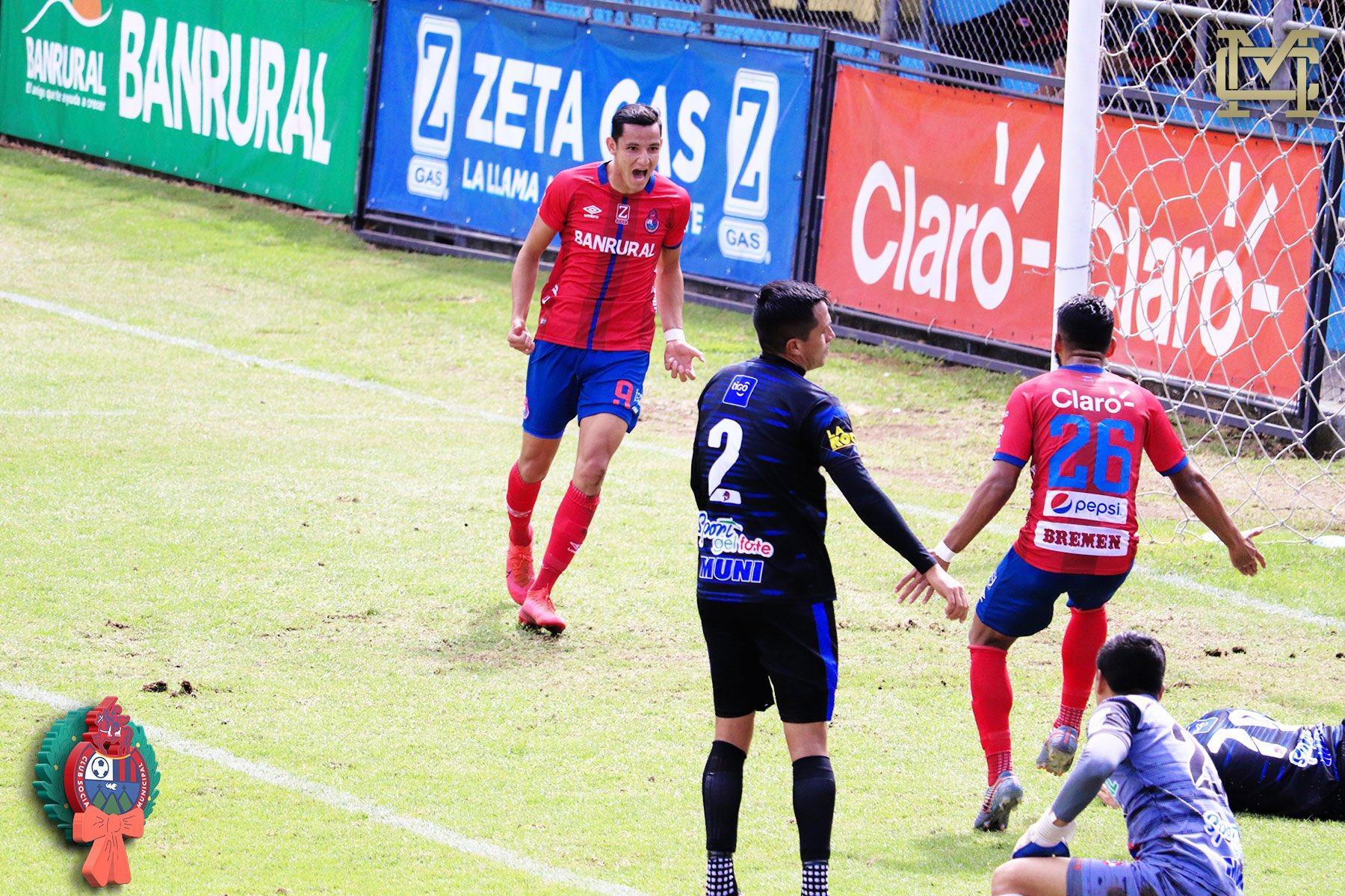 Municipal resolvió sin mayor inconveniente la llave de cuartos de final contra Deportivo Iztapa y se clasificó a las semifinales del Apertura 2020.