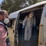 La Comisión de Transporte de la Municipalidad realizará una inspección a las unidades de servicio público en Quetzaltenango; esto para determinar la calidad del producto que están usando los pilotos para combatir el COVID-19.