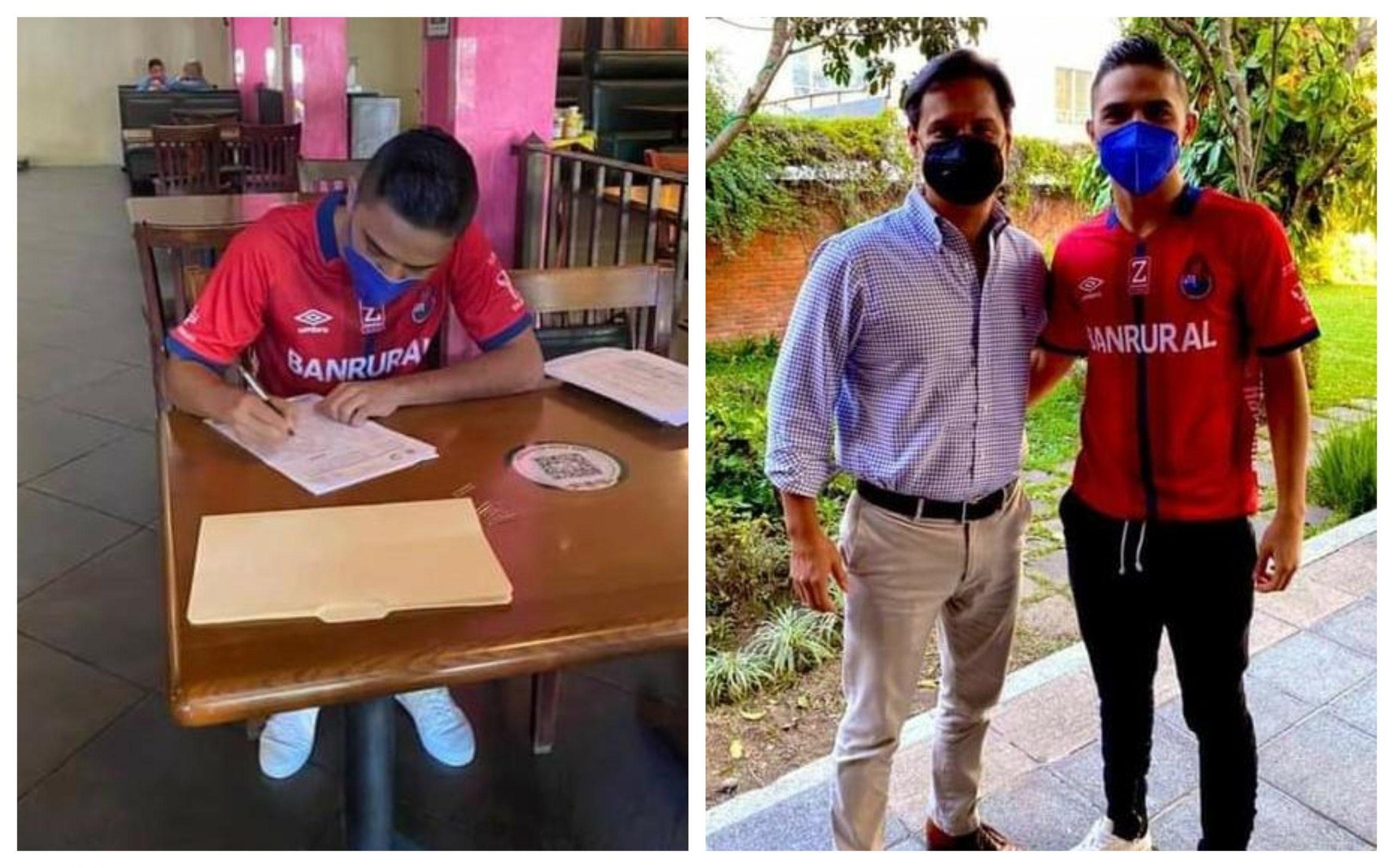 El volante de Suchitepéquez, Javier Alexander Estrada Hidalgo, será jugador de Municipal. Al futbolista de 18 años, nacido en el municipio de Chicacao, solo le resta firmar el contrato que lo vincule al campeón nacional.