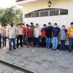 Un grupo de trabajadores agrícolas capturados por posible trasiego de droga en Retalhuleu, quedaron en libertad.
