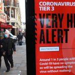 La variante británica del coronavirus parece ser más mortífera, según explicó el primer ministro británico Boris Jhonson.