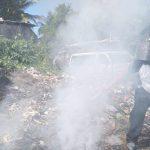 Turba quema a supuesto delincuente en Escuintla