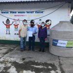 Fundación Miguel Torrebiarte Sohanin entrega ecofiltros y tinacos a comunidades de Alta Verapaz