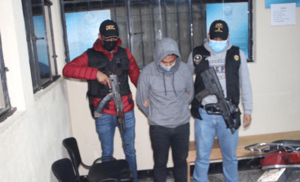 Las autoridades reportaron este martes por la madrugada la captura de Walter Denial Sical Orozco, acusado de acosar sexualmente a una niña en San Marcos.