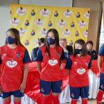 El Club Social y Deportivo Municipal Femenino y Aceite Ideal firmaron una alianza de patrocinio. Más allá de que la marca aparezca en el uniforme, el acuerdo incluye asesoría nutricional con las jugadoras.