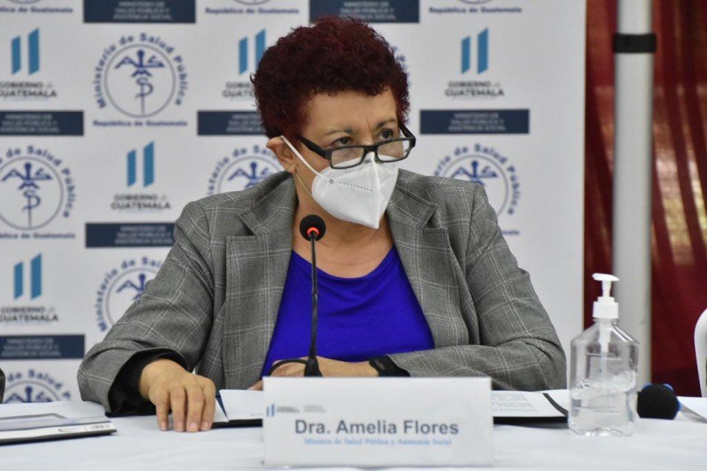 La denuncia penal que presentó la ministra de Salud, Amelia Flores, detalla los hallazgos de anomalías en la compra de pruebas de COVID-19.