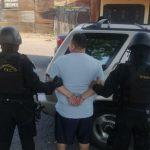 Agentes de la Subdirección General de Análisis e Información Antinarcótica -SGAIA-, de la Policía Nacional Civil -PNC-, capturaron al extraditable Maynor Jovito Salazar Méndez.