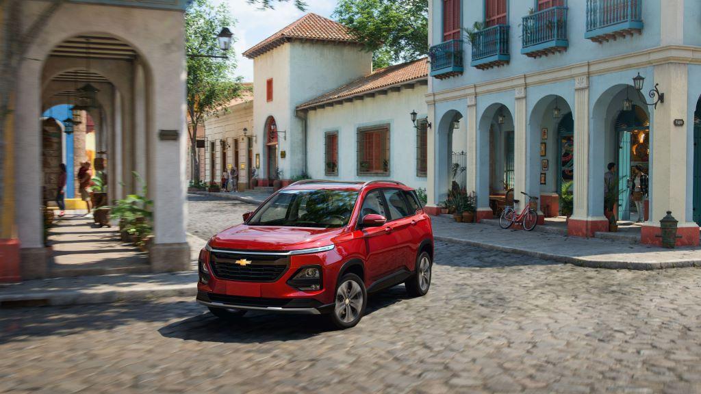 Chevrolet Captiva 2022 llega a Centroamérica y Caribe con nuevo diseño y versatilidad