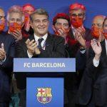 Joan Laporta, quien se proclamó el domingo nuevo presidente del FC Barcelona, aseguró que el argentino Lionel Messi lo había felicitado.