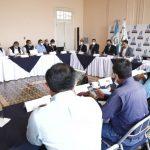 El Ministerio de Ambiente y Recursos Naturales -MARN- lideró una reunión para discutir el cierre técnico del vertedero que se ubica en el kilómetro 22 de la ruta al Pacífico, jurisdicción de Villa Nueva.