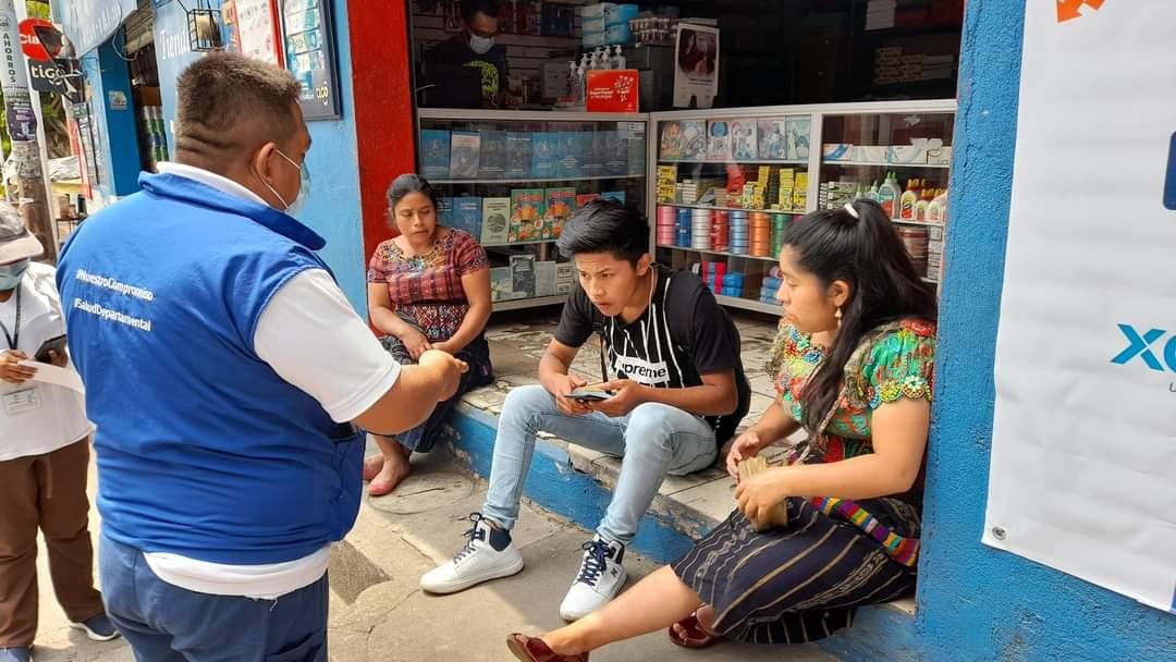 Un alto porcentaje de la población de Suchitepéquez no cumple con los protocolos de prevención del COVID-19.
