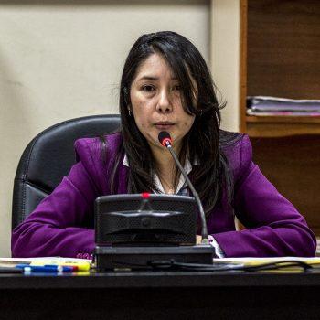 Magistrados de la sala Segunda de apelaciones de mayor riesgo insisten en que la jueza Erika Aifán no tiene competencia para conocer el caso Construcción y Corrupción.
