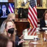 """La vicepresidenta de EE.UU., Kamala Harris, y el presidente Alejandro Giammattei, ratificaron su interés de trabajar juntos; esto para abordar los factores que generan la migración irregular y de generar """"esperanza"""" para evitar que más guatemaltecos quieran abandonar su país."""