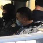 """icía Nacional Civil -PNC-, detuvo en un centro comercial de la zona 10 capitalina, al presunto narcotraficante Iram Adonías Mérida Cobón; al detenido lo apodan """"El Dorado"""" o """"El Bucéfalo"""" y tiene una orden de extradición a Estados Unidos."""