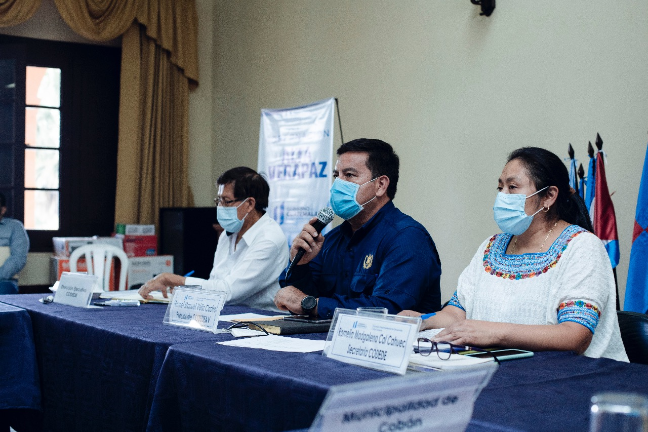 Las autoridades de Alta Verapaz aprobaron el presupuesto de inversión de 52.1 millones de quetzales para el año 2022 en el departamento.