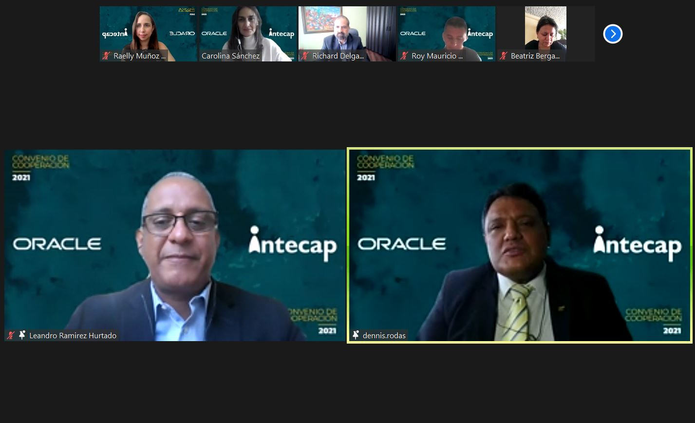 INTECAP y Oracle Centroamérica crean alianza para formar a los desarrolladores del futuro