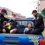 Autoridades reportaron la captura de más de 50 personas por incumplir las normas contra el COVID-19, en Escuintla y Suchitepéquez.