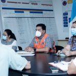 Autoridades del Área de Salud de Alta Verapaz se preparan para la captación de datos de la población; a estas se llegará en la segunda fase del Plan Nacional de Vacunación contra COVID-19.