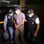 Las autoridades informaron de la captura de un hombre sindicado de violación y que pertenece a la lista de los 100 más buscados de Guatemala.