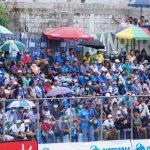 El partido de ida de la final del torneo Clausura que Santa Lucía Cotzumalguapa ganó 4-0 a Comunicaciones se jugó con público pese a la prohibición de las autoridades por el COVID-19.