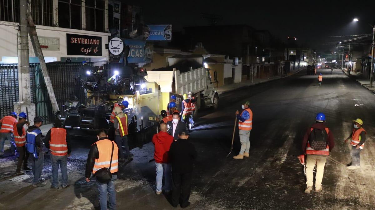Los trabajos para la recuperación de las calles y avenidas de Quetzaltenango siguen; esto luego de que durante años los vecinos han tenido complicaciones para transitar.