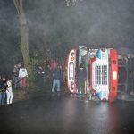 Ante la llegada de la época de lluvias en el país, los accidentes de tránsito podrían aumentar si no se tienen las precauciones debidas. Por tal motivo los Bomberos Voluntarios -BV- hacen un llamado a toda la población a ser precavidas.