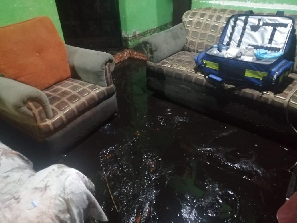 Inundación en Sololá