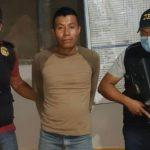 Agentes de la Policía Nacional Civil -PNC- detuvieron al séptimo de la lista de los 100 más buscados de Guatemala; dicho listado se dio a conocer por el Ministerio de Gobernación -MINGOB-.