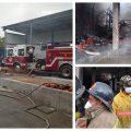 Un voraz incendio se produjo en las bodegas de plástico y papel que se ubican en el kilómetro 196.5 de la ruta de las Verapaces, en jurisdicción de Santa Cruz Verapaz, Alta Verapaz. Afortunadamente el accidente solo dejó pérdidas materiales y no se reportan víctimas.