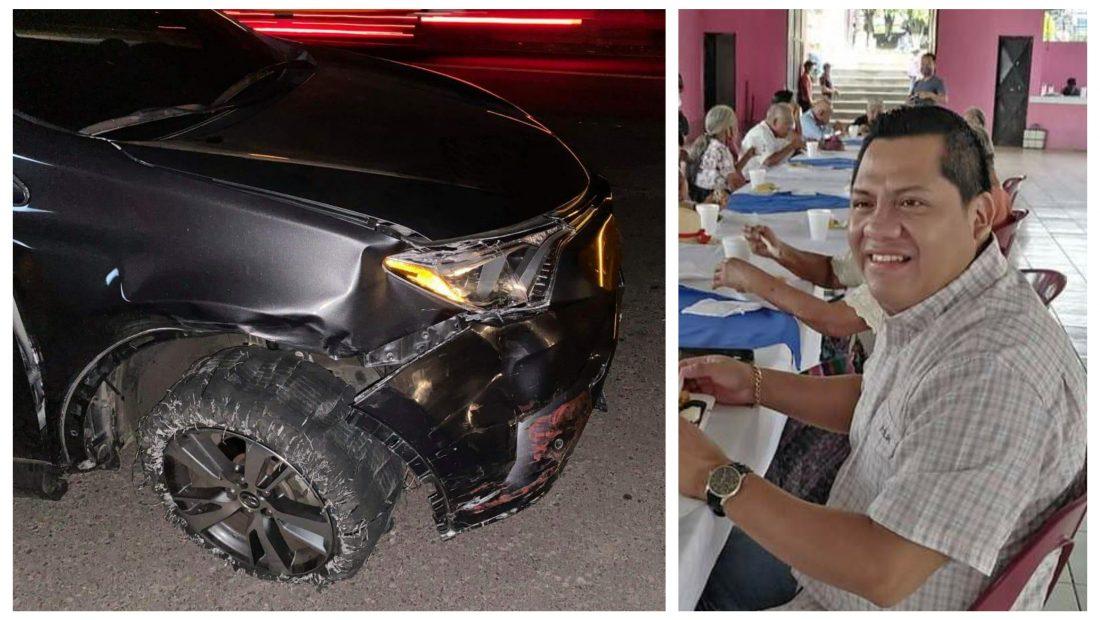 Melvin Macario, alcalde municipal de San Pablo Jocopilas protagonizó un accidente durante anoche en la ruta del camino Antiguo de Samayac a Mazatenango. Según testigos en el lugar el jefe edil se encontraba en estado de ebriedad y pretendió darse a la fuga tras el incidente.
