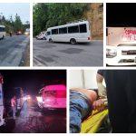 El piloto de una unidad de transporte público quedó gravemente herido luego de ser atacado a tiros por dos desconocidos desde una motocicleta. El incidente ocurrió en el Km 176 de la ruta Las Verapaces, en jurisdicción de Pasmolón, Tactic, Alta Verapaz.