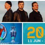 La UEFA ha presentado, a menos de un mes para el inicio del torneo, la canción oficial de la Eurocopa 2020, 'We Are The People'; esta ha sido compuesta por Martin Garrix y que cuenta con la colaboración de Bono y The Edge.