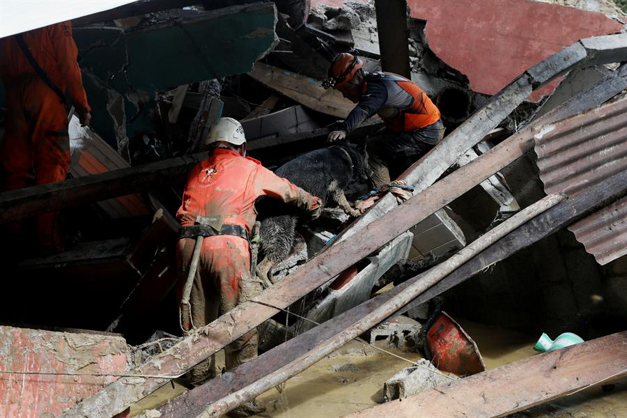 """Los huracanes Iota y Eta que afectaron Guatemala en noviembre pasado mantienen en situación de """"desplazamiento"""" al 36 por ciento de la población; esto en Alta Verapaz y Huehuetenango."""