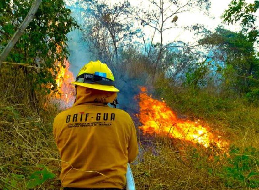 La Coordinadora Nacional para la Reducción de Desastres -CONRED- ha atendido 468 incendios forestales durante la temporada 2020-2021 a nivel nacional.