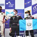 El piloto guatemalteco Mateo Llarena hizo historia el fin de semana al concluir en el tercer lugar en el Campeonato Italiano de Automovilismo. El nacional, de 17 años, corrió al mando de un Lamborghini Huracán GT3 Evo del equipo Imperiale Racing; y se lució en el World Circuit de Misano.
