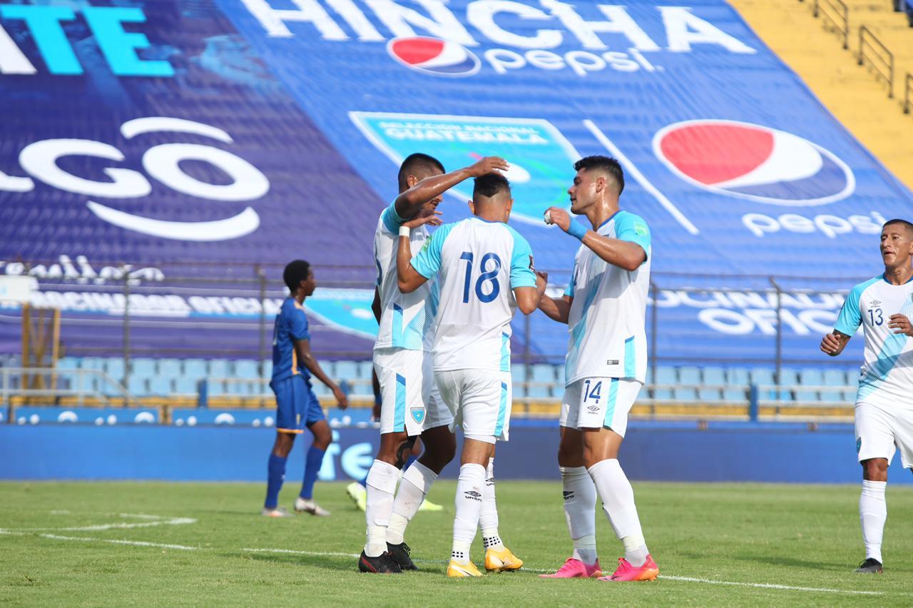 La Selección de Guatemala goleó a San Vicente y las Granadinas 10-0 en la tercera jornada de la eliminatoria mundialista a Catar 2022.