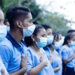 Un total de 138 adolescentes de la aldea Chinama y lugares aledaños, en Lanquín, Alta Verapaz, recibirán clases en condiciones más dignas; esto gracias a la construcción del instituto de educación básica de esa comunidad.