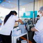 El Ministerio de Salud de Paraguay informó que durante la jornada del fin de semana se aplicaron un total de 49 mil 248 vacunas.