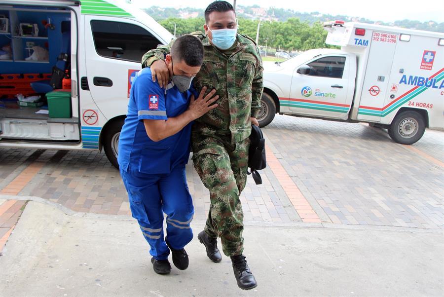 Un atentado terrorista dejó 36 heridos en Cúcuta, Colombia. Se sospecha que la guerrilla del ELN fue quien llevó acabo el ataque contra una brigada militar colombiana, que también contaba con personas de EE.UU., informó el ministro de Defensa, Diego Molano.