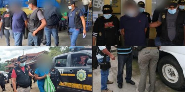El Ministerio de Gobernación informó que más de mil supuestos extorsionistas han sido capturados en lo que va de 2021. Las detenciones se llevado a cabo en distintos operativos realizados a nivel nacional.