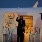 La vicepresidenta de Estados Unidos, Kamala Harris, llegó a Guatemala para comenzar su primer gira de trabajo en el extranjero.