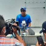 El técnico del equipo de futbol femenino, Washington Rodríguez, anunció su retiro. Foto: Cristian Soto